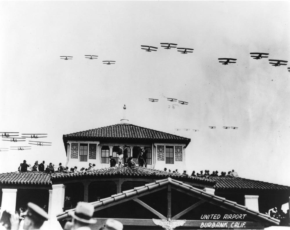 1930 - United Airport opens on Memorial Day weekend Image